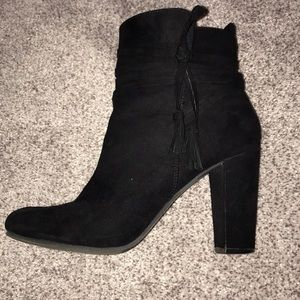 NY&Co Suede Tassel Booties